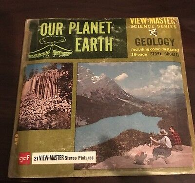 Our Planet Earth Vintage View Master Reels