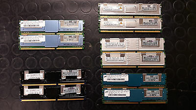 LOTTO RAM HP SERVER ddr2 mt18htf12872fdy, m395t2953ez4, hys72t128420efa, leggi