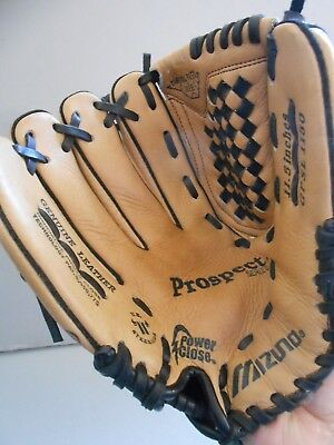 Mizuno 'Power Close II' Leather Left-Hand Throwers Baseball Glove - 11.5""