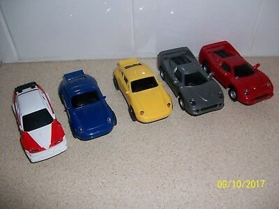 5 Scalextric Spare cars