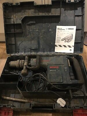 Bosch GSH 11 E Concrete Breaker Demolition Hammer 11kg 240v