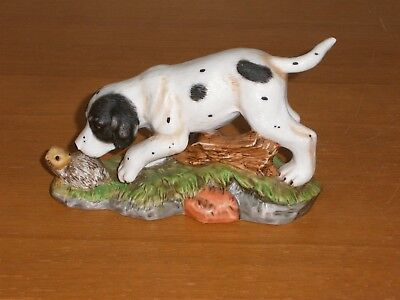 Royal  Osborne  Porcelain  Pointer  Dog  Ornament - Perfect Condition