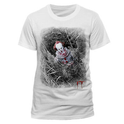 IT Pennywise Hidden Official Movie Licensed T-Shirt Halloween scary