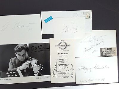 Classical Music Conductor Instrumentalist Autographs Large Lot 45+ Items VTG