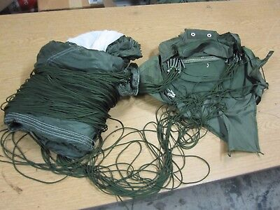 Usgi Military T-10R Mirps Parachute Lines In Tact Appears Good-Selling As Is--