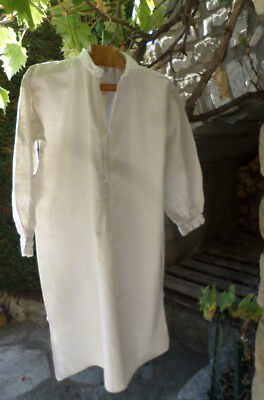 Smock shirt Farmers Winegrowers Vintage Antique  FRENCH @ 1920