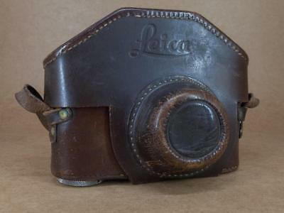Leitz Leica Leather Ever-Ready Case 1/4'' Thread IIc / IIIc / IIf / IIIf