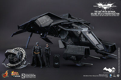Dark Knight Rises 1/12 Scale The Bat Deluxe Collectible Set - Hot Toys (2015)