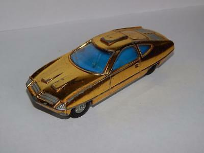 Dinky # 352 Ed Strakers Gold Car - From Gerry Andersons Ufo