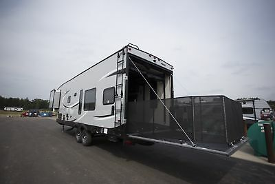 New 2018 Wolf Pack 275PACK18 5th Wheel Toy Hauler Camper RV at Wholesale Price