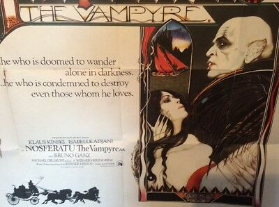 Original UK Quad Poster: Nosferatu the Vampyre