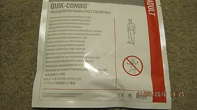 3- pack of Physio-Control Lifepak Quick-Combo Adult Pads exp 3/2019