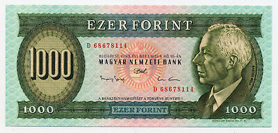 Hungary Pick 176b 1000 Forint banknote 1993  in UNC condition