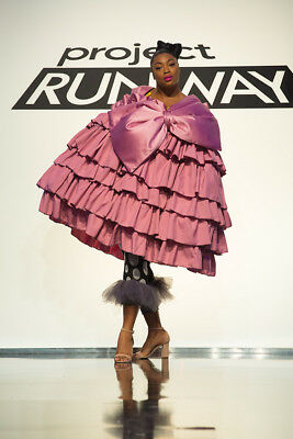 Project Runway Season 16 Ep. 9 Character Couture Designed by Ayana