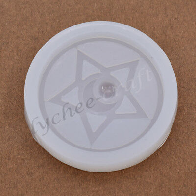 Anime Sailor Moon Silicone Mould Transform Mold DIY Pentagram Star Ornament