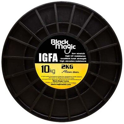 Black Magic Igfa Bulk Spool 13550 0.410 mm Clear