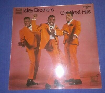 THE ISLEY BROTHERS L.P. 1970.   'GREATEST HITS.'   SRS 5043.   1st PRESS.   EX.