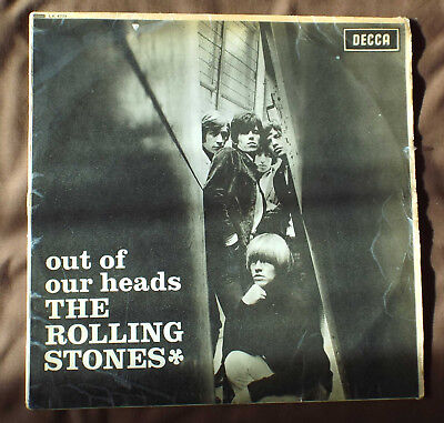 ROLLING STONES. =LP = DECCA. LK 4733.MONO 1st = OUT OF OUR HEADS =1965 -ARL.6973