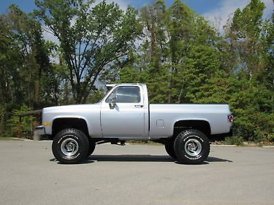 1983 Chevrolet Pickup Short Wide 1983 Chevy Short Wide GMC Suburban Clip 454 Cold A/C 73,xxx Miles Nice 4x4