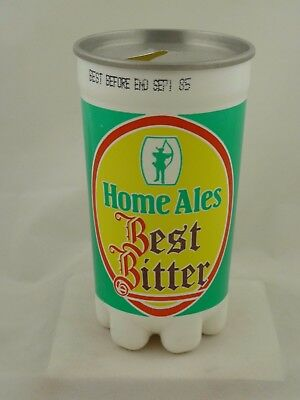 Empty plastic beer can from England (1985)