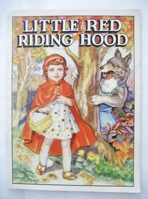 1939 Forest Park Nat'l Bank, F.P., IL Child's Booklet Ad Little Red Riding Hood