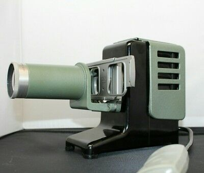 Boxed Leitz Wetzlar 150 Prado Slide Projector wired & working, no bulb included