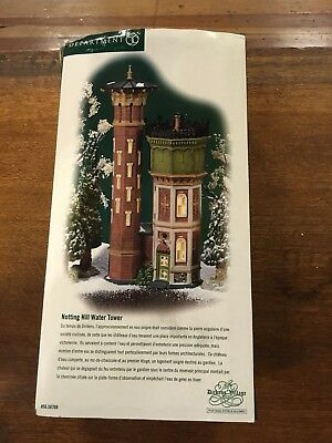 Dept 56 Dickens' Village series - Notting Hill Water Tower
