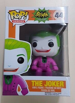 Funko Pop! Batman Classic TV Series - The Joker - #44 - New & Sealed