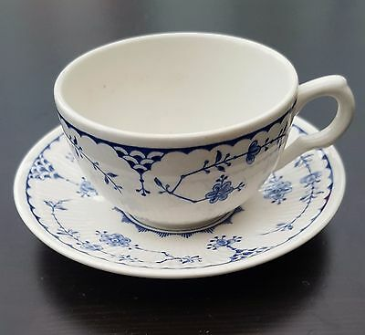 Furnivals Blue Denmark Tea Cup & Saucer - great condition