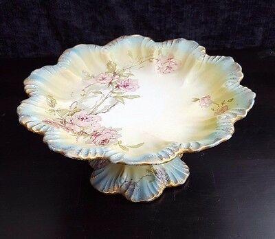 Vintage Ridgway Royal Rose Comport, Cake Stand