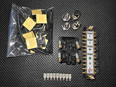 Gecko G540 Relay kit  (This Kit Includes Everything Minus Wire)