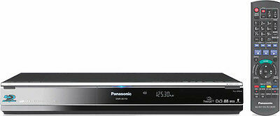 Panasonic DMR-BS750 Blu-Ray Recorder with 250GB HDD - Twin Freesat+ HD Tuner