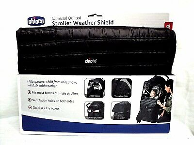 Chicco Universal Quilted Stroller Weather Shield BNIB
