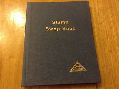 Super Condition Vintage Stamp Swop Book by Boots- full of stamps