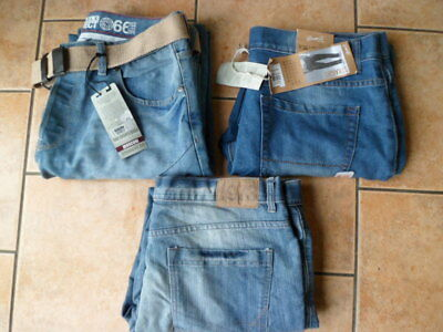 """Joblot Jeans-Waist 36"""" Leg 30""""--3 Pairs--2 Pairs New And 1 Pair Used--W 36 L 30"""