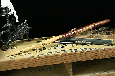 Spalted Figured Tamarind Wood Wand – Wiccan Magic Wooden Witch Wizard Potter
