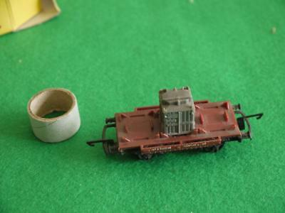 SUPERB BOXED TRI-ANG TT Gauge Railway T276 CONTAINER WAGON