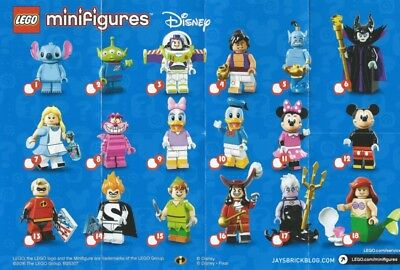 LEGO Minifigures Disney Series - New - Unopened - Factory Sealed