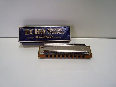Hohner ECHO Super Vamper 'G' Harmonica owned by Viv Stanshall Bonzo Dog Band