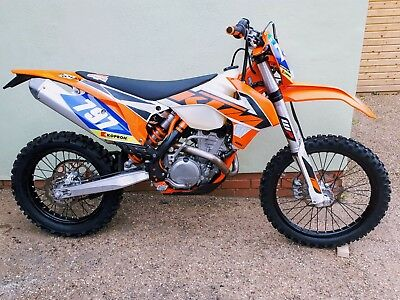KTM 250 exc-f 2016 fuel injection (15 reg) 1624 miles / 85.3 hours.  Great bike!
