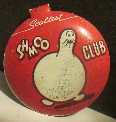 Sealtest Dairy Shmoo Club Tin Pin