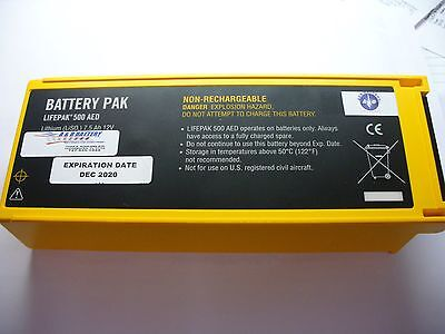 Physio Control Lifepak 500 Battery Replacement