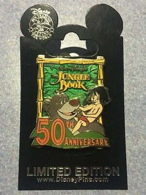 Disney - The Jungle Book 50th Anniversary -Limited Edition of 2000 Trading Pin