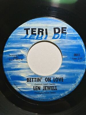 Len Jewell - Bettin' On Love  -  TERI DE Issue  Northern Soul Wigan Casino Torch
