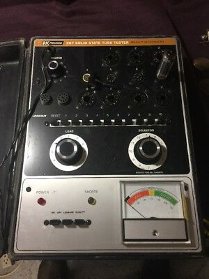 Dynascan 667 Solid State Tube Tester B+K Precision See Condition Looks Unused