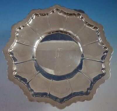 "Washington by Wallace Sterling Silver Cookie Plate #3916 9 1/2"" (#1911)"