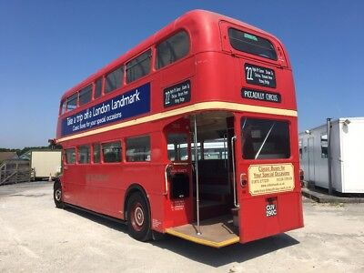 Red London Routemaster Double Decker Bus