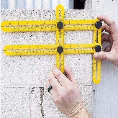 Angleizer Multi-Angle Ruler Template Tool Floor Measuring Instrument