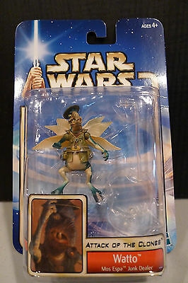 Star Wars - 2002 Saga Collection - Watto Figure - Factory Sealed!