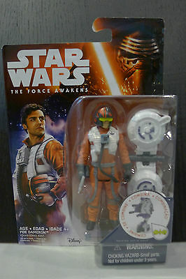 Star Wars - The Force Awakens - Poe Dameron Figure - Factory Sealed!